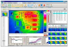 Temperature thermal imaging mapping