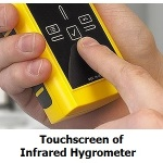 touchscreen-control-of-IR-Hygrometer