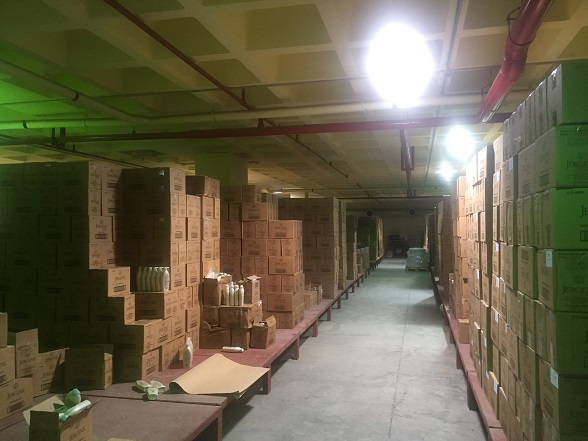 temperature-mapping-of-processed-food-warehouse