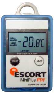 Temperature data Logger which does not need any special software for download